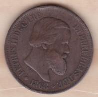 Brésil 20 Reis 1868 Pedro II KM# 474 - Brésil