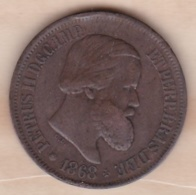 Brésil 20 Reis 1868 Pedro II KM# 474 - Brazil