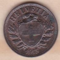 Suisse. 2 Rappen 1913 B  .KM# 4.1 .SUP/XF - Schweiz