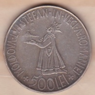 ROUMANIE . 500 Lei 1941 . Mihai I, En Argent, KM# 60 - Roumanie