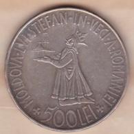 ROUMANIE . 500 Lei 1941 . Mihai I, En Argent, KM# 60 - Roemenië