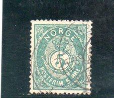 NORVEGE 1883-90 O - Norvège