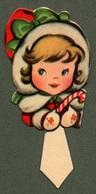 """0929 """"TORINO - HELLER -SEGNAPOSTO - DECORI PER FESTE BAMBINI - STAMPATI IN FOTOCROMOLITHOGRAFIA - ANNI '50 XX SECOLO"""" - Seasons & Holidays"""
