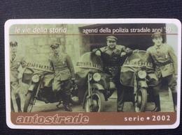 CARTE DE TRANSPORT AUTOROUTE  *50€  Autostrade Vin Card  ITALIE - Abonnements Hebdomadaires & Mensuels