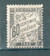 FRANCE ; TAXES ; Type Duval ; 1881-92 ; Maury N° 21  ; Oblitéré - Taxes