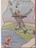 ILLUSTRATEUR--VENTICINQUE----Sogno Di Paracadutista - Illustrateurs & Photographes