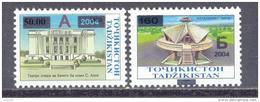 2004.Tajikistan,  Definitives, 2v With Oveprints, Mint/** - Tadschikistan
