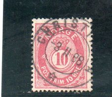 NORVEGE 1883-90 O - Oblitérés