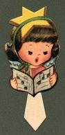"""0934 """"TORINO - HELLER -SEGNAPOSTO - DECORI PER FESTE BAMBINI - STAMPATI IN FOTOCROMOLITHOGRAFIA - ANNI '50 XX SECOLO"""" - Seasons & Holidays"""