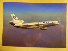 VARIG     DC 10   PP VMB   AIRLINE ISSUE / CARTE COMPAGNIE - 1946-....: Ere Moderne