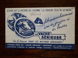 L18/62 Buvard. La Vache Serieuse. - Food