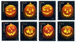 Etats-Unis / United States (Scott No.5137-40 - Jack O'-lantern) (o) All Positions / Toute Positions - Used Stamps