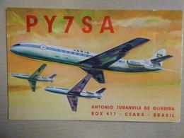 VARIG     CARAVELLE    AIRLINE ISSUE / CARTE COMPAGNIE - 1946-....: Ere Moderne