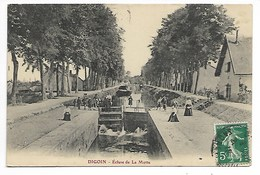DIGOIN Ecluse De LA MOTTE 1910 Près Chalon Sur Saône Autun Gueugnon Mâcon Le Creusot Louhans Cluny Paray Montceau Mines - Digoin