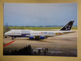 VARIG    B 747 341  STAR ALLIANCE - 1946-....: Ere Moderne