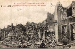 54 BACCARAT BOMBARDE PAR LES ALLEMANDS VUE INTERIEURE - Baccarat