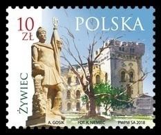 Poland 2018 Mih. 4996 Zywiec Town. Zywiec Castle MNH ** - 1944-.... Republik