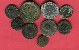LOT 9 MONNAIES DIFFERENTES  B 18 - 4. Autres Monnaies Romaines