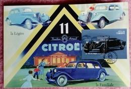 Journée Du Timbre, FDC, BLOC 1.76€, OLONNE Sur Mer, Format Carte Grand Format, 20 X 30 , - Voitures