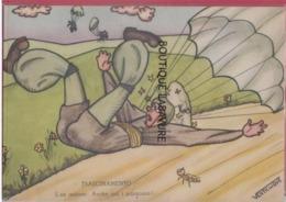 ILLUSTRATEUR--VENTICINQUE---TRASCINAMENTO----L'ex Autiere : Anche Qui I Paracarri.! - Illustrateurs & Photographes