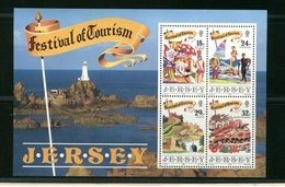 JERSEY -  BF  FOGLIETTO    FARO  LIGHTHOUSE  PHARE    Corbiere Lighthouse (La Corbiere) (St. Brelade) - Fari