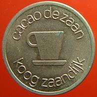 KB069-1 - CACAO DE ZAAN KOOG ZAANDIJK - Zaandijk - WM 20.0mm - Koffie Machine Penning - Coffee Machine Token - Professionali/Di Società