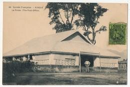 CPA - KINDIA (Guinée) - La Poste - Guinée Française