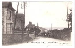 Saint-Cast (22 - Côtes D'Armor)   Arrivée à La Plage - Saint-Cast-le-Guildo