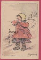 ILLUSTRATEUR---JEGOU-CASAY---Fillette En Pleurs--Orphelinat Des Armés - Illustrateurs & Photographes
