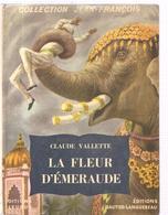 Pas Signe De Piste (collection Jean-François) La Fleur D'émeraude De Claude Vallette De 1954 - Autres