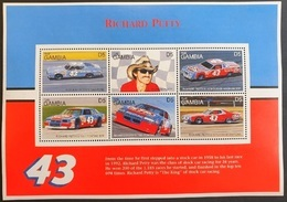 Gambia 1996**Mi.2456-61. Richard Petty. Racing Cars, MNH [5;26] - Auto's