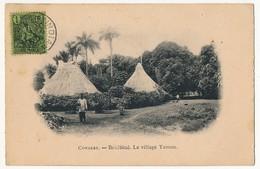 CPA - CONAKRY (Guinée) - Boulbiné, Le Village Tamou - Guinée Française