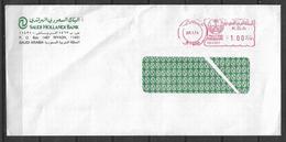USED AIR MAIL COVER SAUDI ARABIA - Arabie Saoudite