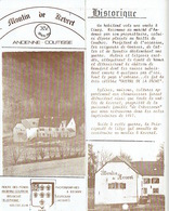 ANDENNE-COUTISSE - MOULIN DE KEVRET - Hotel-Restaurant  Dépliant En 4 Volets - Tourism Brochures