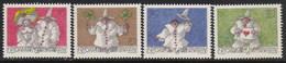 Liechtenstein 1114/1117 ** MNH. 1998 - Liechtenstein