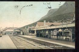 South Africa - Cape Town - Zuid Afrika - Kaapstad - Muizenberg Railway Station - 1907 - South Africa