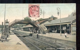 South Africa - Cape Town - Zuid Afrika - Kaapstad - Wijnberg Railway Station - 1907 - South Africa