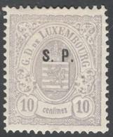 Luxemburg Yvert/Prifix Service 39* Luxe Signe FSPL  Cote EUR 200++ (numéro Du Lot 429OL) - Service