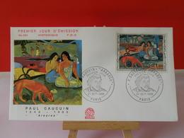 Paul Gauguin - Paris - 21.9.1968 FDC 1er Jour N°650 - Coté 4€ - 1960-1969