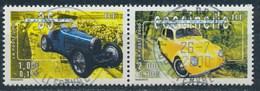 France -Collection Jeunesse-Voitures Anciennes YT 3317 + 3322 Se Tenant Obl - France