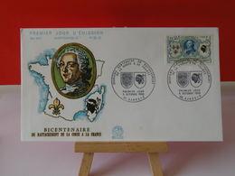 La Corse à La France - 20 Ajaccio - 5.10.1968 FDC 1er Jour N°652 - Coté 2,20€ - 1960-1969