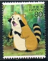 Japan 2012 - Animation Hero And Heroine - Series 18 - Rascal - 1989-... Emperador Akihito (Era Heisei)