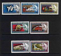 HUNGARY,  1974 LOT OF STAMPS MNH/PHILATELY/PHILATELIC EVENTS - Filatelia & Monedas