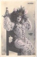 Spectacle CHAVITA ( Artiste  Opéra Comique) Avec Paillettes Dorées -( - Editions : REUTLINGER Série  837 ) *PRIX FIXE - Artistes