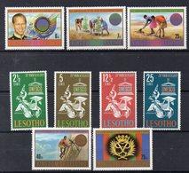 LESOTHO  Timbres Neufs** ( Ref 6199 )   2 Séries Complètes - Hologrammes - Lesotho (1966-...)