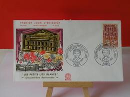 Les Petits Lit Blancs - Paris - 26.10.1968 FDC 1er Jour N°655 - Coté 1,50€ - FDC