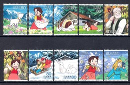 Japan 2013 - Animation Hero And Heroine - Series 19 - Heidi - A Girl Of The Alps 1,5 Million Issued - 1989-... Emperor Akihito (Heisei Era)