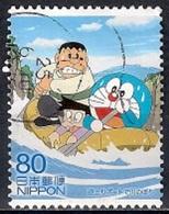 Japan 2013 - Animation Hero And Heroine - Series 20 - Doraemon - 1989-... Emperador Akihito (Era Heisei)