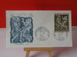 Antoine Bourdelle, La Danse - Paris - 26.10.1968 FDC 1er Jour N°656 - Coté 3€ - 1960-1969