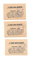 Hongrie Hungary Ungarn - Ticket Sarkad 1926 AUNC Ovp 1000 K BON - UTALVANY - Hongrie
